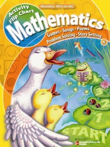 9780021063130: Math Connects, Kindergarten, Activity Flip Chart