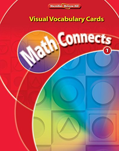 9780021063239: Math Connects, Grade 1, Visual Vocabulary Cards
