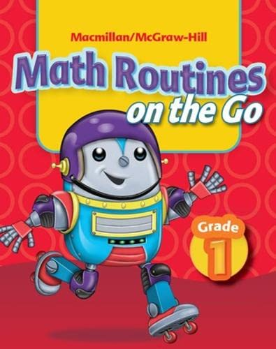 9780021063338: Math Connects, Grade 1, Math Routines on the Go (Elementary Math Connects)