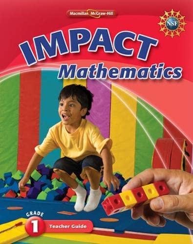 9780021063871: Impact Mathematics: Grade 1 Teacher Guide
