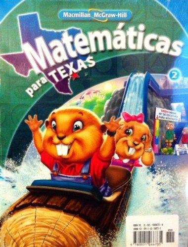 9780021066735: Matematicas Para Texas Grade 2 Volume 1 & 2