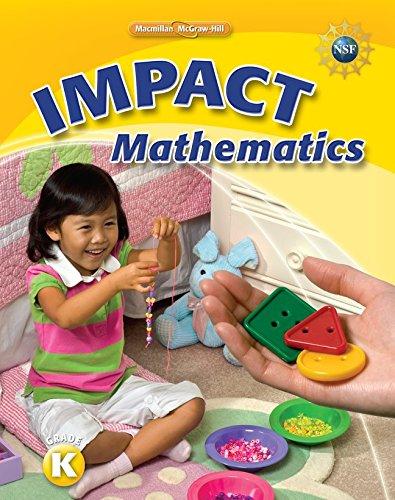 9780021070220: Math Connects, Grade K, IMPACT Mathematics, Student Edition
