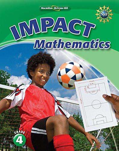 9780021070268: Math Connects, Grade 4, IMPACT Mathematics, Student Edition