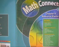 Math Connects 2, Chapter 4 Resource Masters: MACMILLAN MCGRAW-HILL