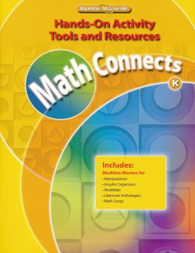 9780021073160: Math Connects Hands-on Activity Tools and Resources