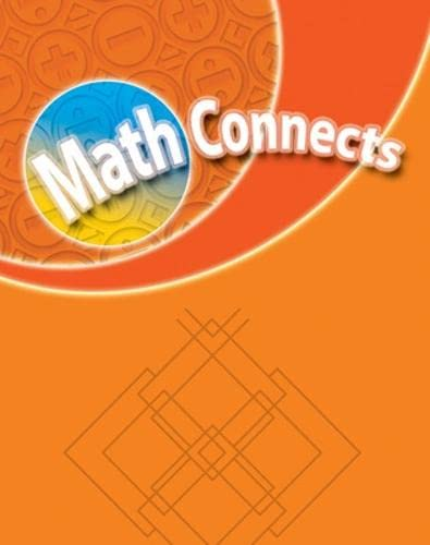 9780021073429: Math Connects: Grade 3 Transition Masters, Teacher's Edition 0021073422, 9780021073429