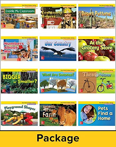 9780021073795: Math Connects, Grade K, Real-World Problem Solving Readers Package (On Level)