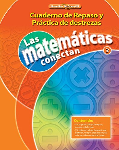 9780021073962: Math Connects, Grade 3, Real-World Problem Solving Readers Package (Spanish) (ELEMENTARY MATH CONNECTS) (Spanish Edition)