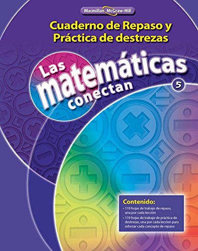 9780021073986: Math Connects, Grade 5, Real-World Problem Solving Readers Package (Spanish) (ELEMENTARY MATH CONNECTS) (Spanish Edition)