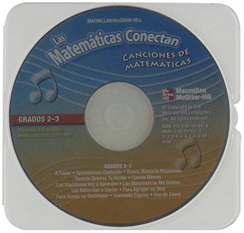 9780021074426: Las Matematicas Conectan, Grados 2-3: Canciones de Matematicas