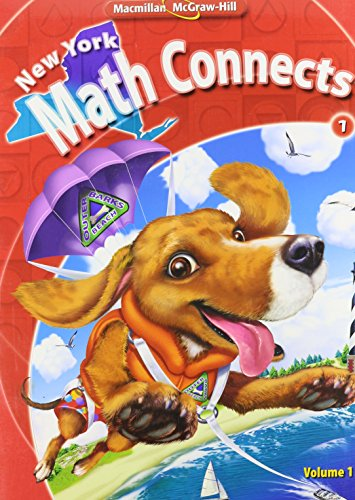 9780021074853: NY Math Connects, Grade 1, Consumable Student Edition, Volume 1 (New York Math Connects)
