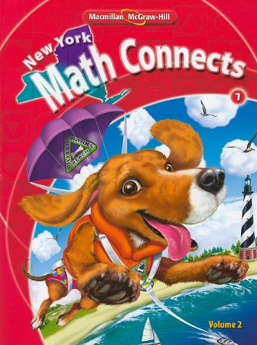 9780021074860: NY Math Connects, Grade 1, Consumable Student Edition, Volume 2 (New York Math Connects)