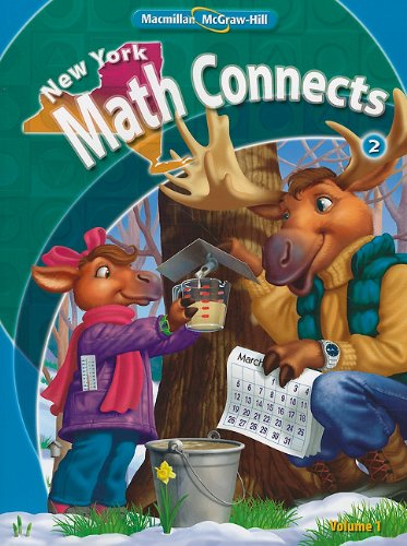9780021074877: NY Math Connects, Grade 2, Consumable Student Edition, Volume 1 (New York Math Connects)