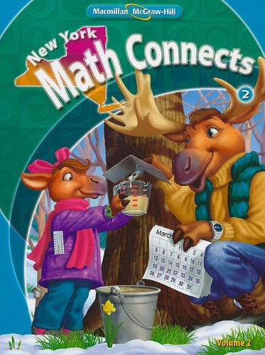 9780021074884: NY Math Connects, Grade 2, Consumable Student Edition, Volume 2 (New York Math Connects)