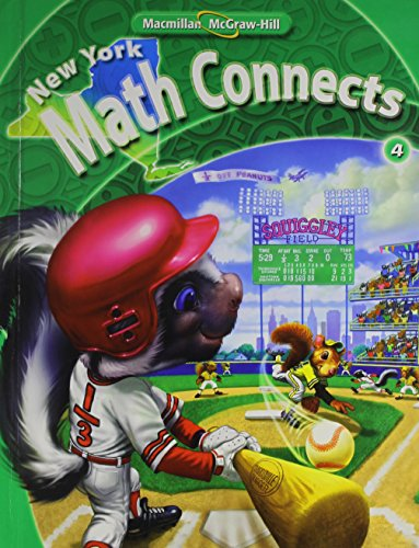 9780021074914: NY Math Connects, Grade 4, Student Edition (New York Math Connects)