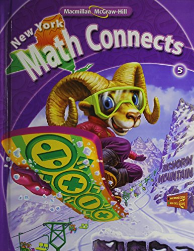 9780021074921: NY Math Connects, Grade 5, Student Edition (New York Math Connects)