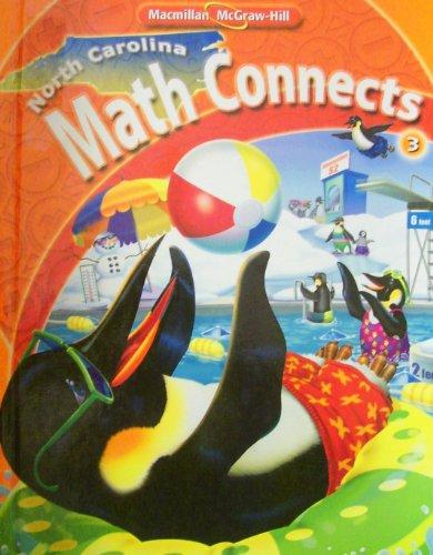 9780021077571: NORTH CAROLINA MATH CONNECTS 3