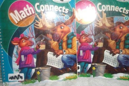 9780021078455: Math Connects 2: Teacher's Edition Volume 1 9780021078455