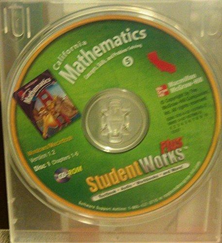 9780021079452: Mathematics Grade 5 StudentWorks Plus CD-ROM Set (Concepts, Skills, and Problem Solving)