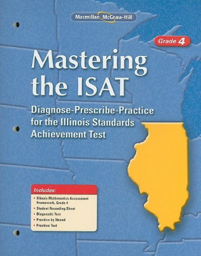9780021079681: Mastering the ISAT, Grade 4, Student Edition