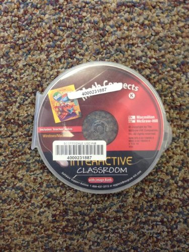 9780021084050: Math Connects Level K Interactive Classroom with Image Bank CD ROM ISBN 002108405X 9780021084050