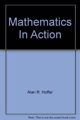 9780021084920: Mathematics In Action