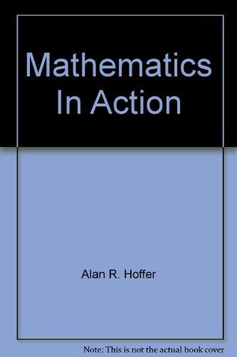9780021084920: Mathematics In Action