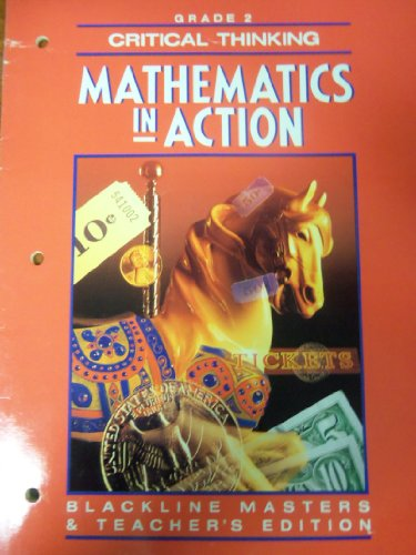 9780021088355: Mathematics in Action 1992 -Grade 2 -Critical2thinking Blackline Masters