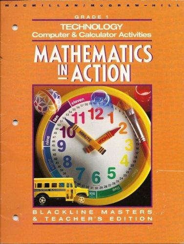 9780021088683: Technology Computer&Calculator Activities Grade 1 (Mathematics in Action)