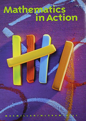 9780021092628: Mathematics in Action: Grade One