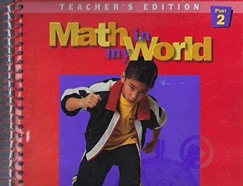 9780021095117: Math In My World (Mc Graw Hill Mathematics, Gr 3 Part 1)