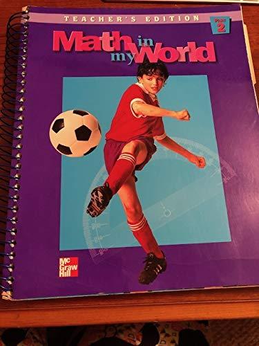 9780021095223: Math in My World , Grade 5, Part 2, Teacher's Edition