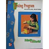 9780021095315: Math in My World: Testing Program Blackline Masters, Grade 4