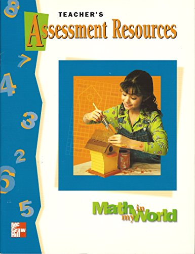 Teacher's Assessment Resources: Macmillan/McGraw-Hill School Division