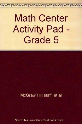9780021096237: Math Center Activity Pad - Grade 5