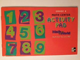9780021096251: Math in My World - Math Center Activity Pad