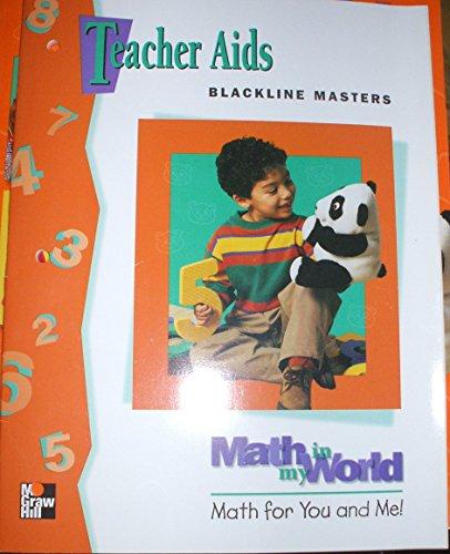 9780021096916: Teacher Aids Blackline Masters - Math in my World Kindergarten