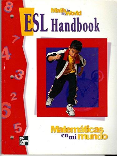 9780021102563: Matematicas En Mi Mundo: ESL Handbook Math in My World, Grade 3