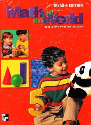 9780021102846: Math in My World Grade K - Texas Edition