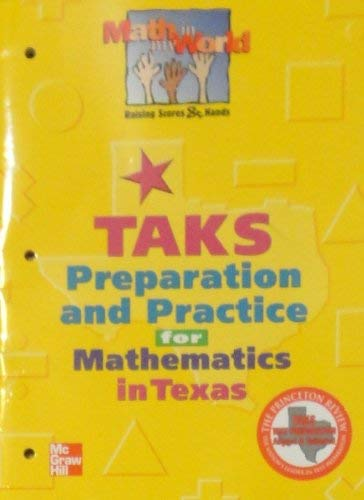 9780021103096: Math in My World Taks Preparation and Practice for Mathematics in Texas - Grade 1