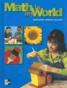 9780021103195: Math in My World: Developing Problem Solvers