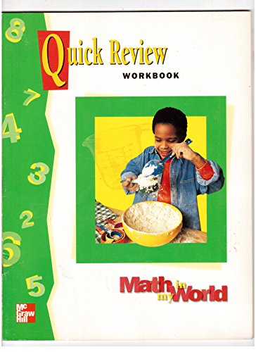 9780021105465: Quick Review Workbook (Math in My World, Grade 2)