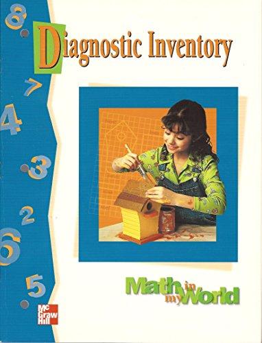 9780021106417: Diagnostic Inventories Blackline Masters Grade 4 (Math in My World)