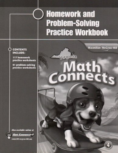Virginia Math Connects: Homework and Problem-Solving Practice: McGraw Hill