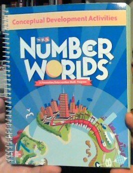 9780021138036: Number Worlds: Conceptual Development Activities- A Prevention/Intervention Math Program