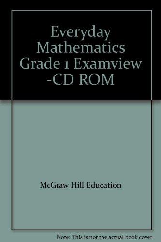 9780021145737: Everyday Mathematics Grade 1 Examview -CD ROM