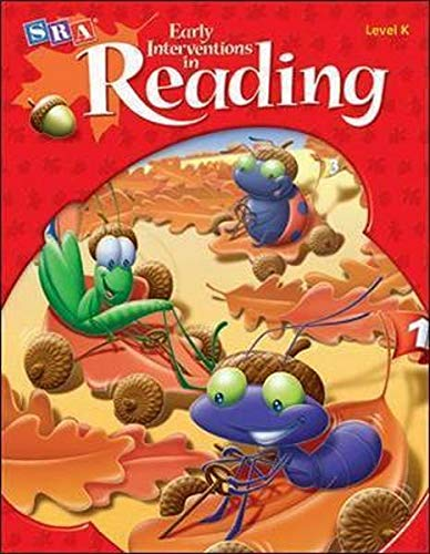 9780021146659: SRA Early Interventions in Reading level K Activity Book