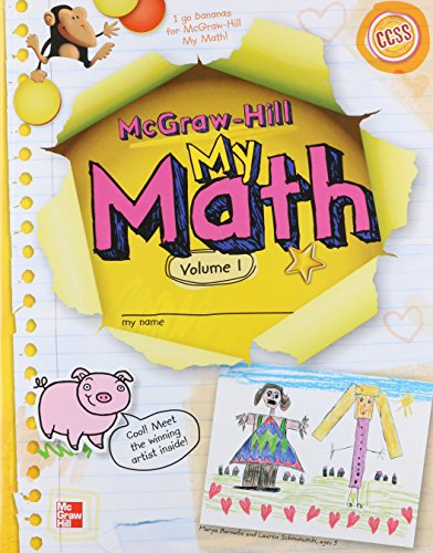 9780021150199: My Math Grade K, Vol. 1 (ELEMENTARY MATH CONNECTS)