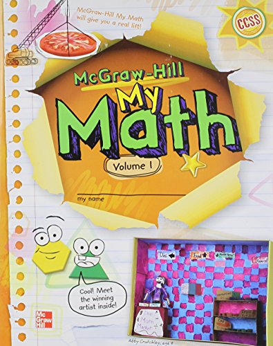 9780021150229: McGraw-Hill My Math, Grade 3, Student Edition, Volume 1 (Elementary Math Connects)