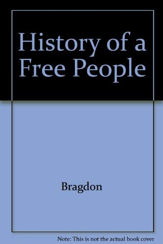 9780021153206: History of a Free People